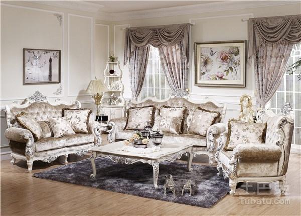 欧式布艺沙发图片及价格大全 欧式布艺沙发该如何保养