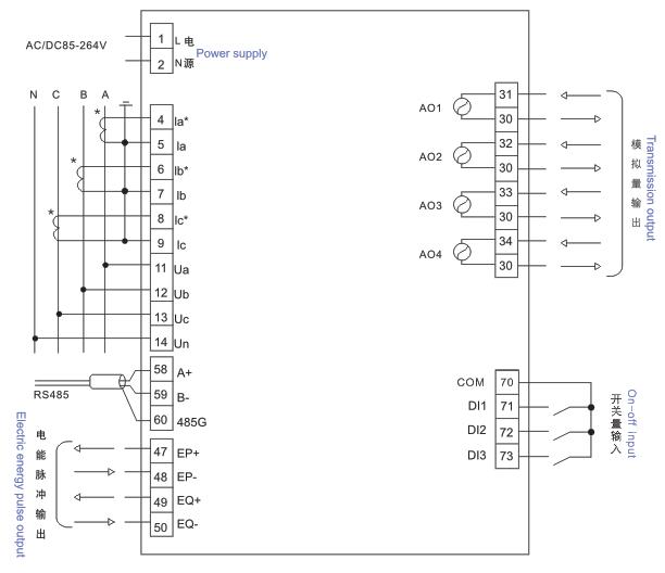 12v输出纹波不大于2倍的基本误差值响应时间300ms 电源辅助电源ac