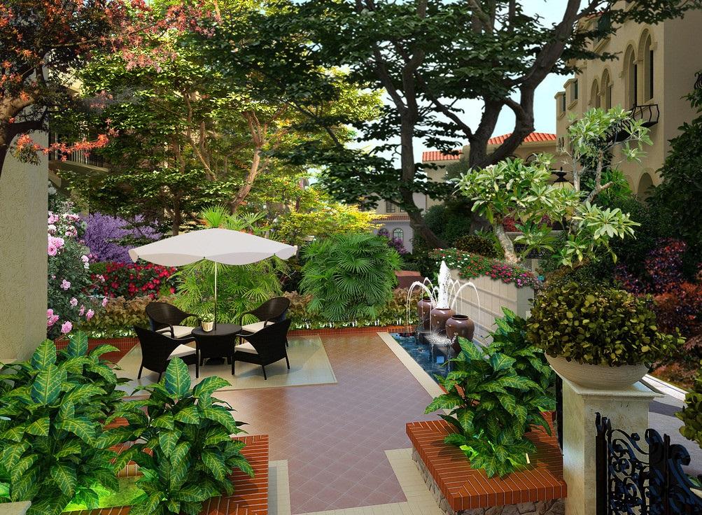 80平方庭院设计