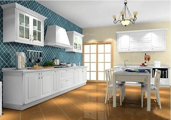 厨房墙面瓷砖装修效果图
