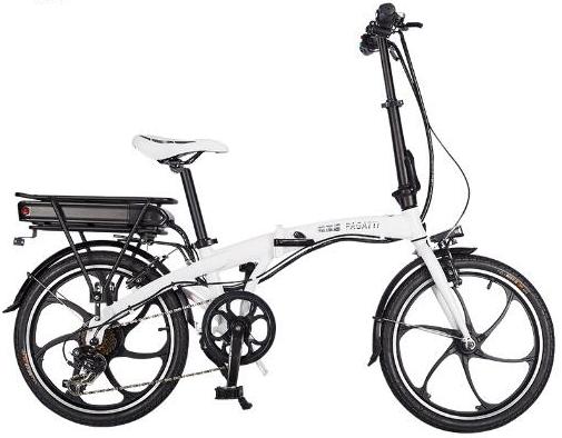 折叠电动车自行车