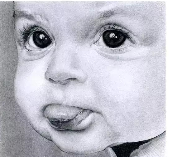 素描小孩头像_素描头像_素描头像培训