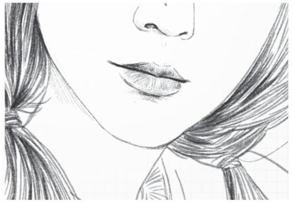 看着一张张美丽的女孩照片,你也一定期盼着自己能够用画笔描绘出来这样可爱的女孩。 想要画好人像素描,那就要掌握三庭五眼的规律。  人的眼睛在头部的中间(不同的人之间有微小的差异),鼻子在眼睛与下巴中间,嘴巴在鼻子与下巴中间,所以画人的头部时,要注意眼睛、鼻子、嘴巴这三者的位置。