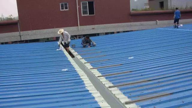 钢结构屋面防水堵漏怎么做?