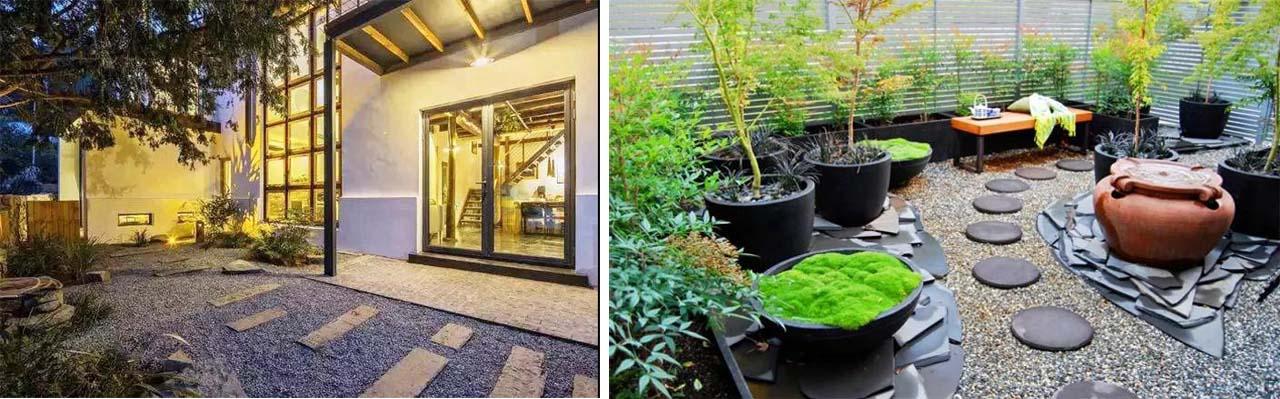 行嘉花园设计教你别墅庭院如何铺装