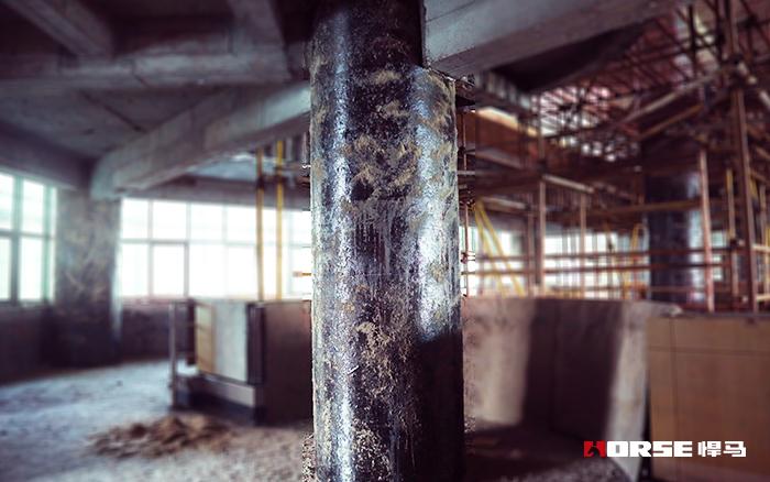 悍马碳纤维布加固柱子