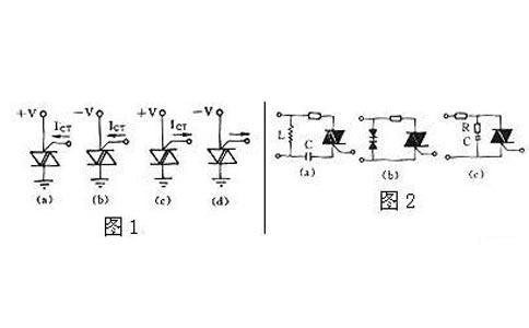 因此在电感上产生一个高电压,这个电压通过电源的内阻加在开关触点的