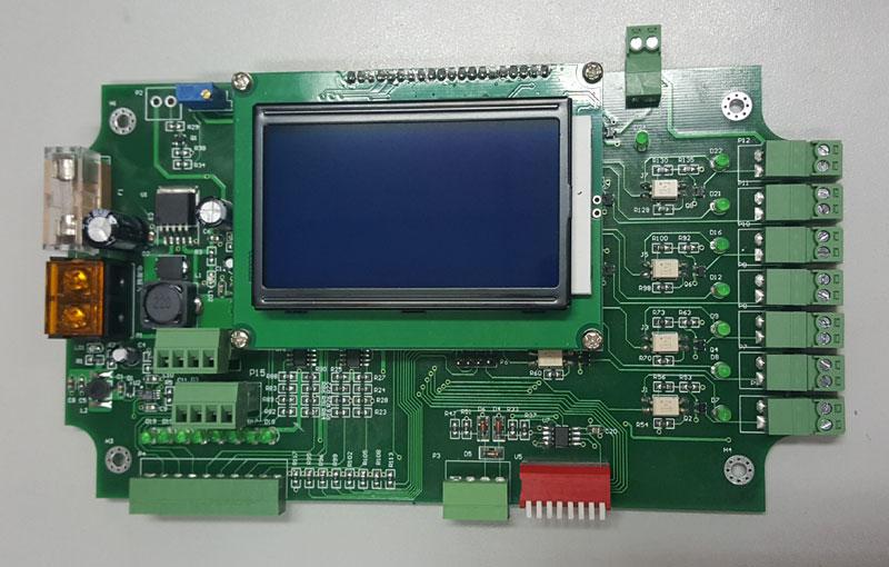 电源选用24v输入,过流过压保护,并带有故障指示灯. 提供传输协议.