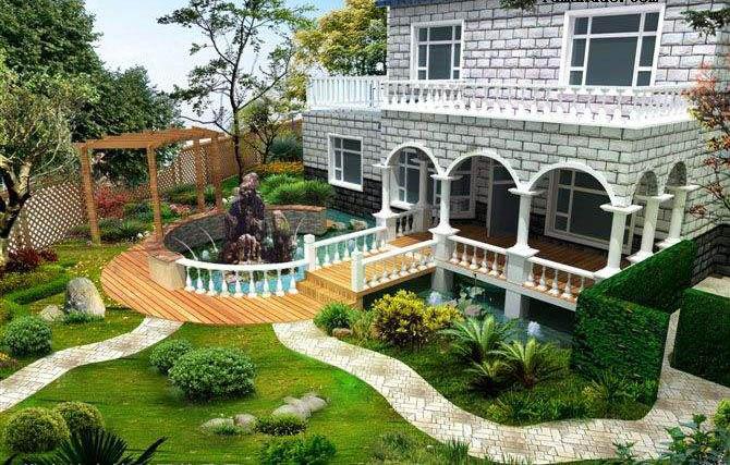 大景景观设计专家告诉你:别墅院子设计五大要素