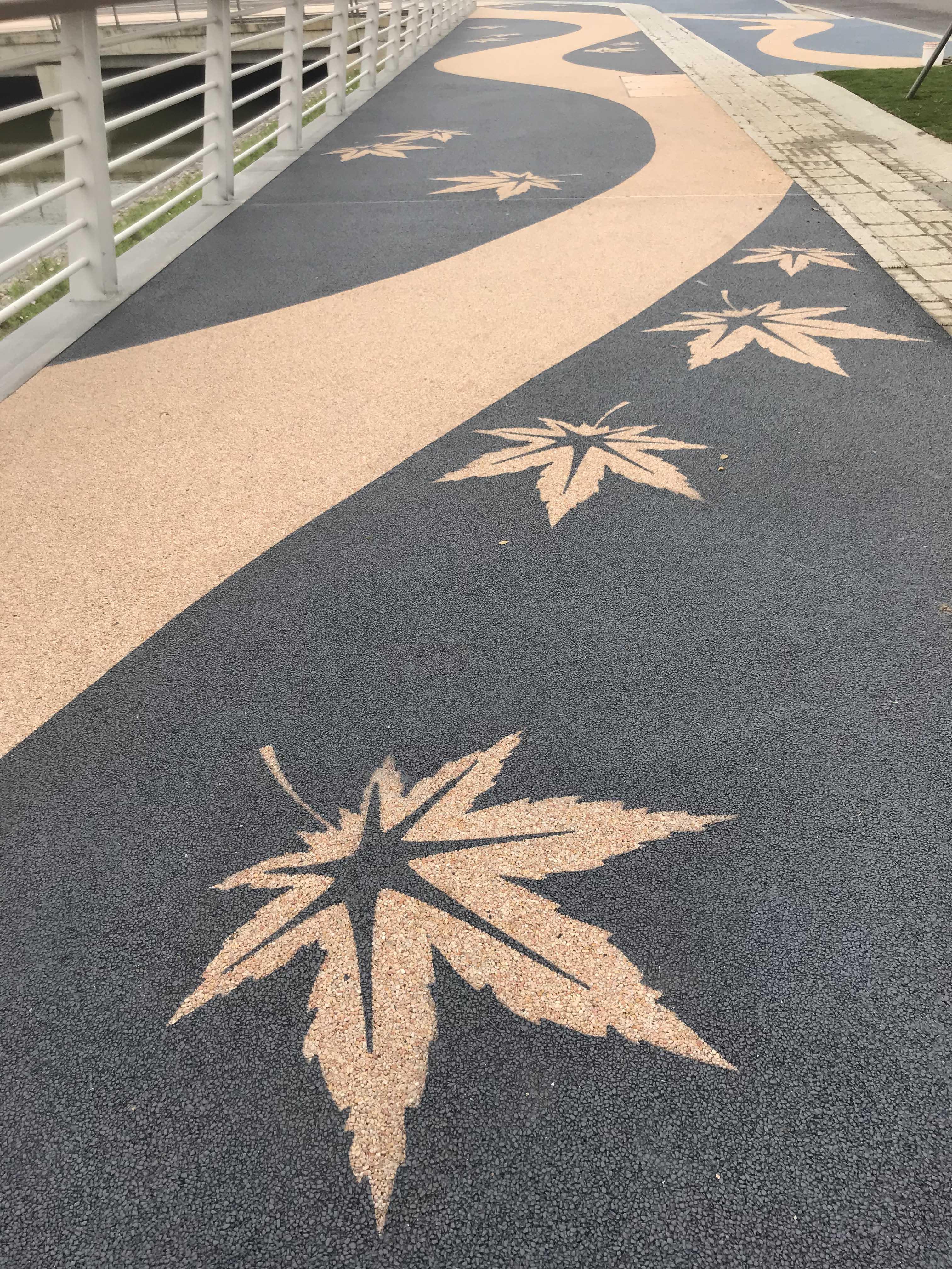 自发光景观路面,透水混凝土彩色路面等各种户外彩色路面材料的综合性