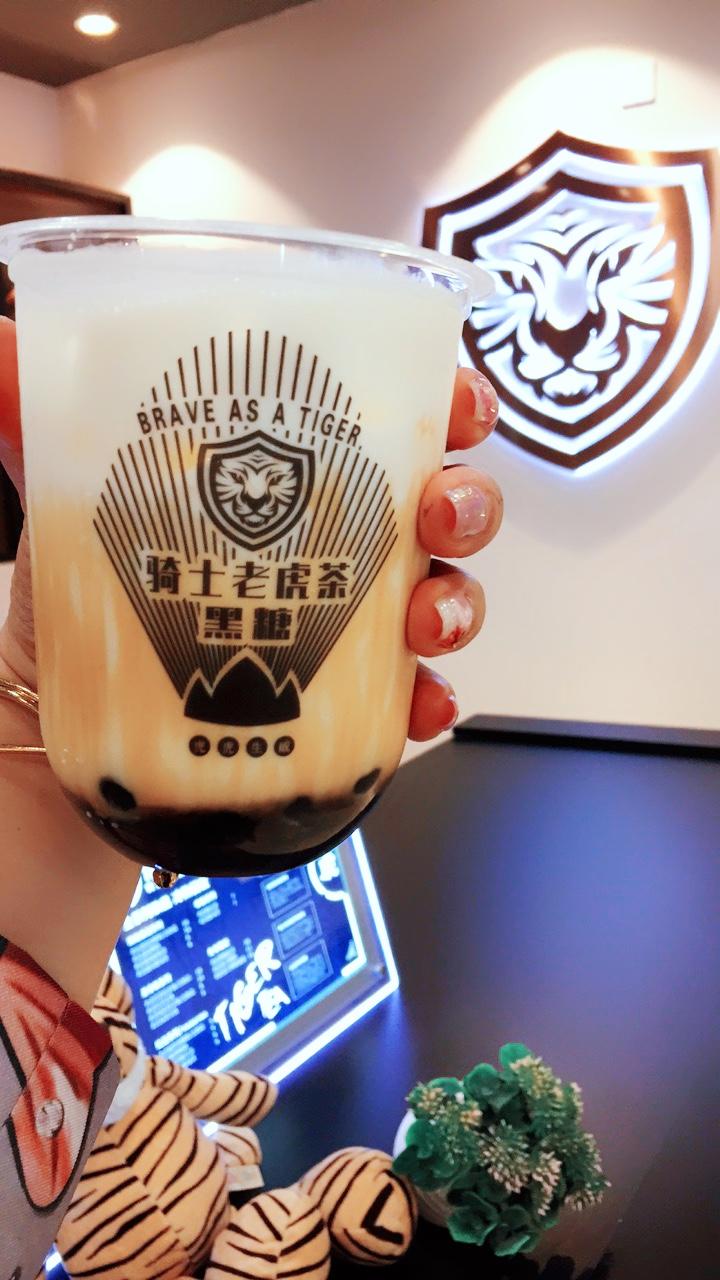 新式茶饮加盟,骑士老虎茶开店即可盈利,全新饮品模