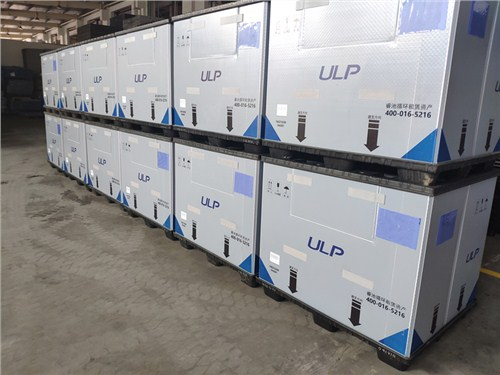 围板箱 围板箱租赁 塑料环保折叠箱 睿池供应链