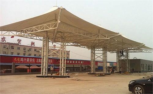 宜昌膜结构加油站方案设计 来电咨询 靓典供应