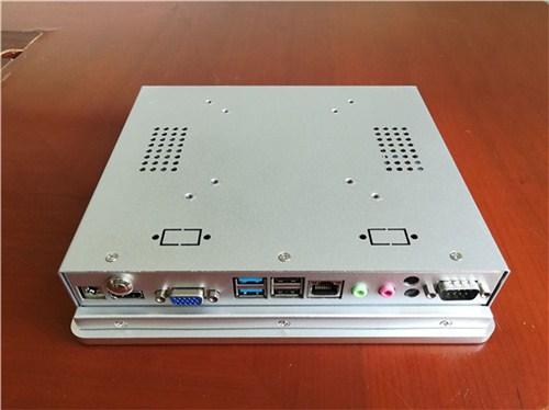 研源8寸工业计算机 嵌入式工业计算机电容屏