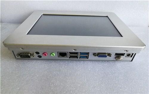 工业计算机 8寸酷睿i3工业计算机电阻屏报价