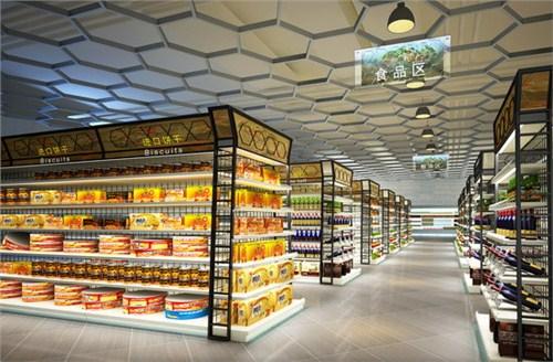 延津商場超市設計裝修預算 新鄉市志高建筑裝飾供應