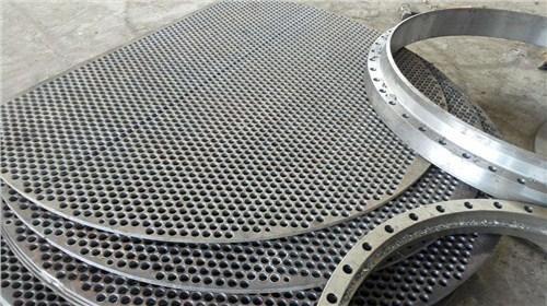 上海铝合金石化压力容器折流板规格齐全