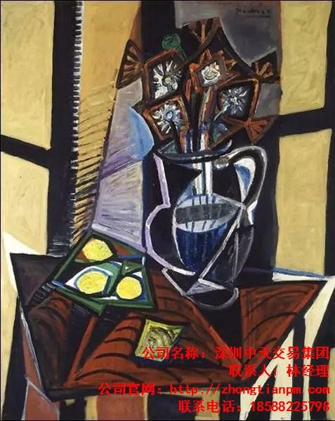 毕加索作品毕加索作品市场估价 毕加索作品极其珍贵 中天艺术供