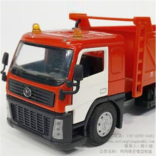 合金工程车模型