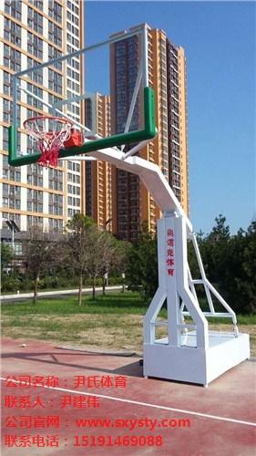 广州电动液压移动式篮球架厂家
