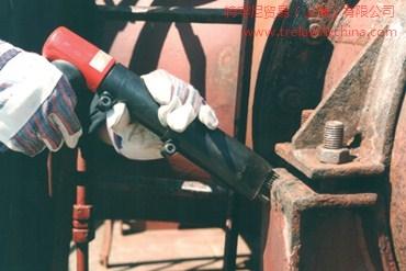 金属凹凸表面除锈打磨的针式除锈机