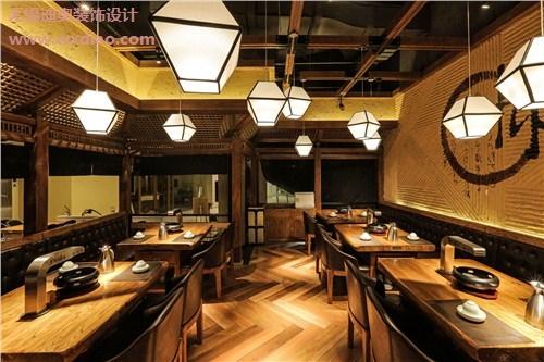 日本料理店装修设计 日式料理店装修公司 小型日料店装修 迪奥供