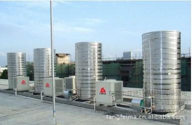 厂家定制 真空管太阳能热水器集热器宾馆热水工程