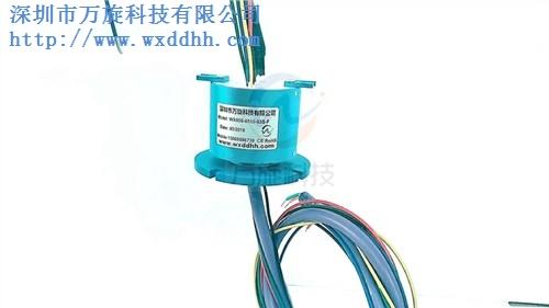法兰电滑环 法兰电滑环定制 法兰电滑环供应 万旋供