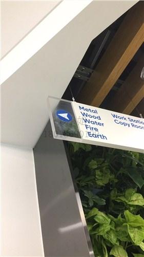 玻璃楼层指示牌UV平板打印
