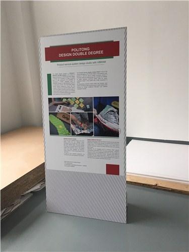 易拉宝画面打印制作带安装