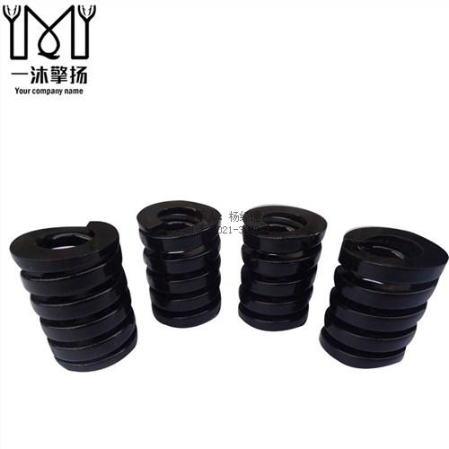 黑色矩形弹簧SWG 超重荷弹簧规格图片 非标弹簧定做 擎扬供