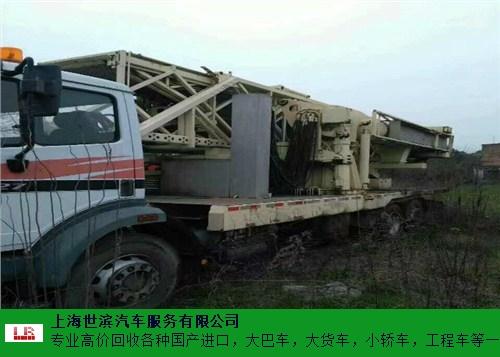 江西高价回收拖车 世滨供应