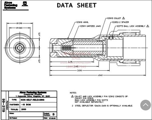 上海不銹鋼環槽鉚釘  鋁結構鉚釘  建筑環槽鉚釘  沃頓供