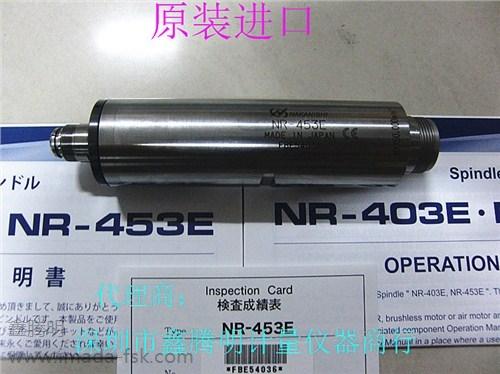 日本中西NSK高速电动主轴NR-403