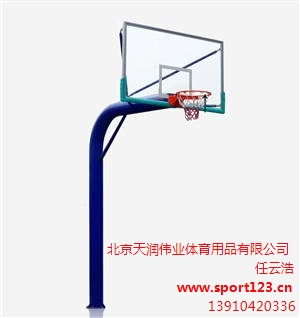 西安标准防腐学校篮球架批发