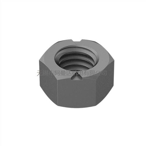 Continental-Aero 镀镉钢顶锁扭曲螺纹六角防松螺母
