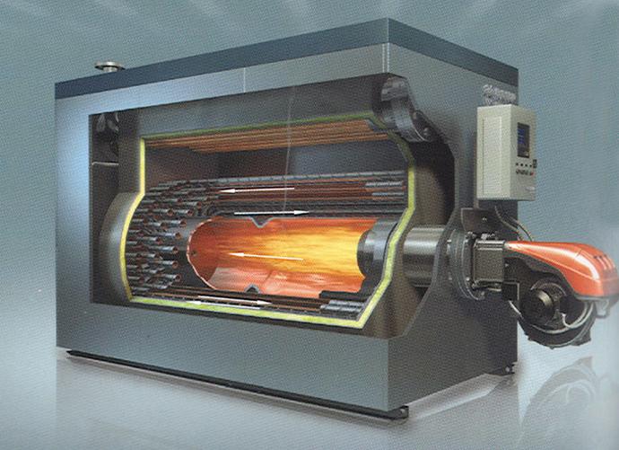 采暖炉内部结构实物图